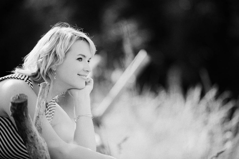 Portrait Frau outdoor