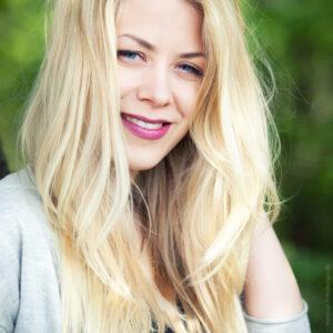 Blonde Frau - Portrait